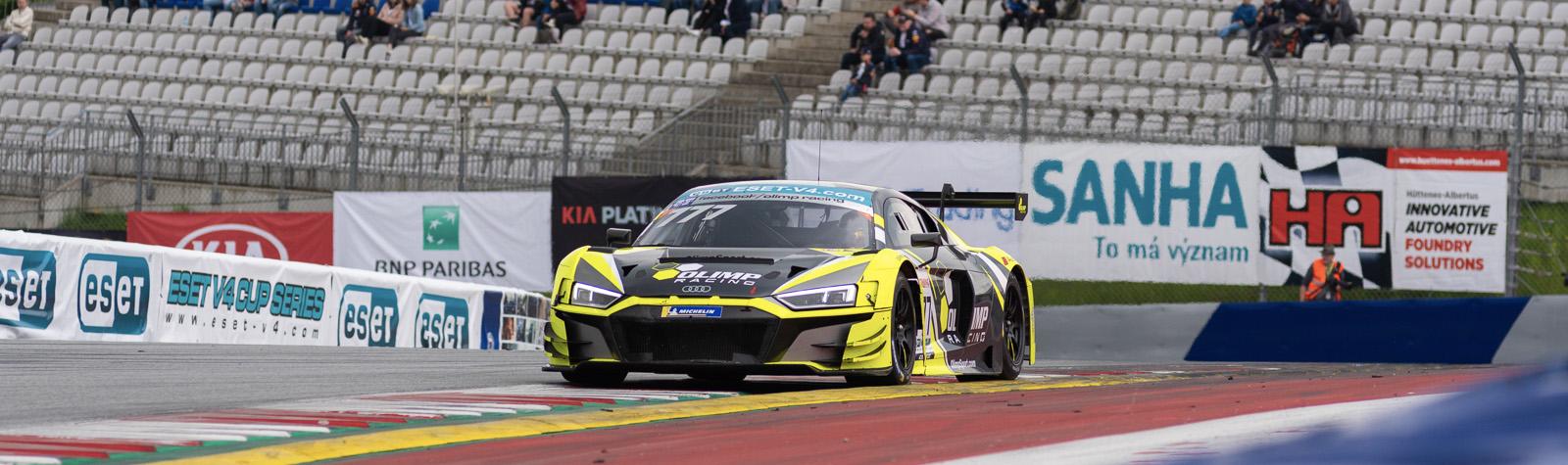 První místo v kvalifikaci v třídě GT3 vybojoval Lisowski